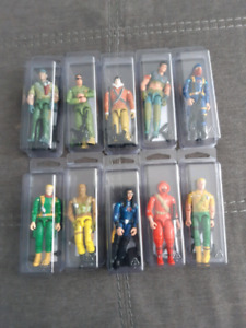 Selling my Gi Joe Collection all Figures Complete with Weapons