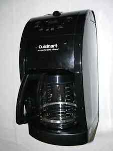 Cuisinart electronic coffee maker with built-in grinder