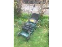 Hayter hunter 41 Petrol self drive lawn mower