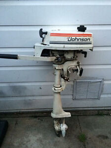 Johnson outboard 2hp seahorse