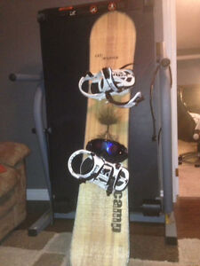 Snowboarding kit (basically brand new)