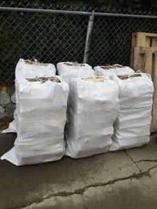 4 BAGS BIRCH FIREWOOD + 1 BAG KINDLE + FREE DELIVERY $140***