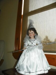 The Snow Queen porcelain doll
