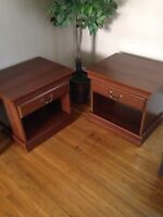 End tables - $40 each or $75 for both