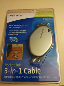 Kensington (3-in-1 Cable).