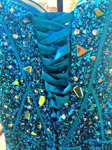 Blue Dominique Levesque Prom Dress Gatineau Ottawa / Gatineau Area image 2