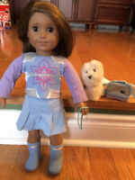 Limited Time: American Girl Doll (& DOG)! -Used, Prime Condition