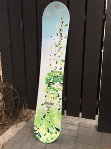 """Firefly 50.5"""" Snowboard: Used once White (located Camrose)"""