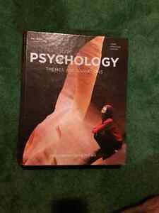 Psychology textbook themes and variations (3rd canadian edition) Cambridge Kitchener Area image 1
