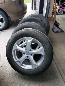 235/60/R17 Aftermarket Alloy Rims with Tires