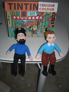 Tintin - (2) Poupées de chiffon