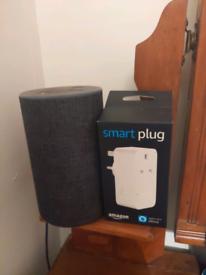 Amazon Alexa 2nd gen and brand new smart plug