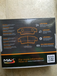 2012 dodge grand caravan front brake pads and rotor
