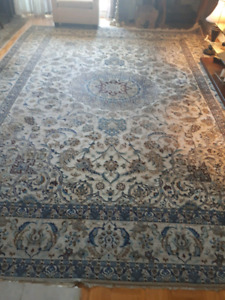 Kashan hand made persian rug