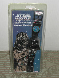 "Montre musicale ""Darth Vader"" de ""Star Wars"""