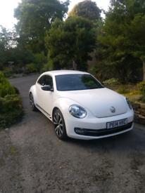VW BEETLE 2014 - NEEDS ENGINE WORK
