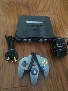Nintendo 64 Console with Controller - Great Condition-Runs Great