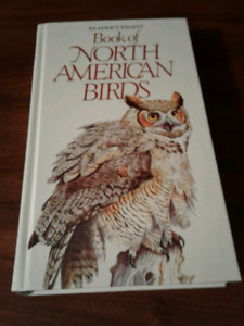 Readers diagest book of north american birds