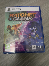 Ratchet and clank rift apart PS5 new sealed