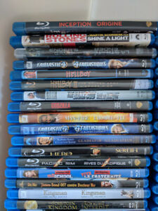 Blu-Ray and DVD's