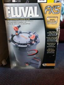 FLUVAL FX5 EXTERNAL FILTER