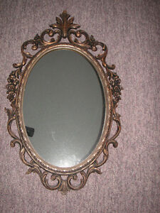 """Frame Antique Vintage 1940's Wall Mirror   """"very good ...intact."""