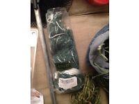 nylon and hemp purse nets