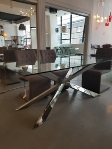 Rize Dining Table from Zuo Modern