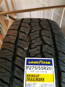 2 NEW GOODYEAR TIRE 20""