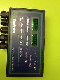 Technics digital fan speed controller