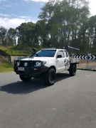 Clean Toyota hilux 4x4 Sr d4d rwc rego Paradise Point Gold Coast North Preview