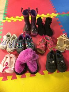 Toddler size 6 lot of shoes/sandals etc