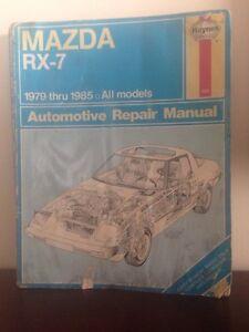 Mazda RX-7 Shop Manual