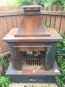 Outdoor fireplace fire pit ON HOLD