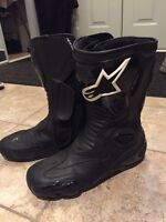 Alpinestars waterproof motorcycle boots for sale. Size 11.5