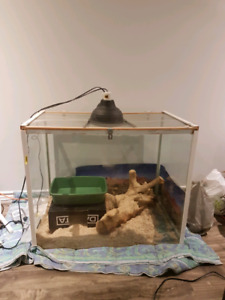 Sturdy home built Reptile tank