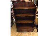Reprodux bookcase shelf unit drawers