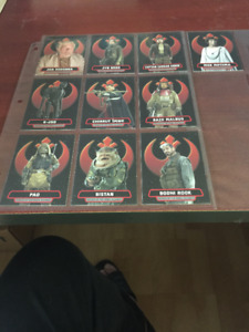 2017 Topps Star Wars Rogue One Series 2 Heroes Of The Rebel SET