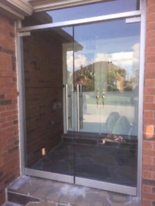10mm Tempered Glass Entrance Doors & Stairs & Mirror