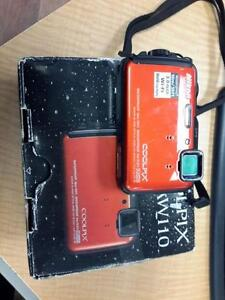 *** USED *** NIKON COOLPIX AW110 CAMERA   S/N:51108774A   #STORE306