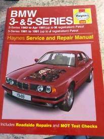Haynes BMW manuals