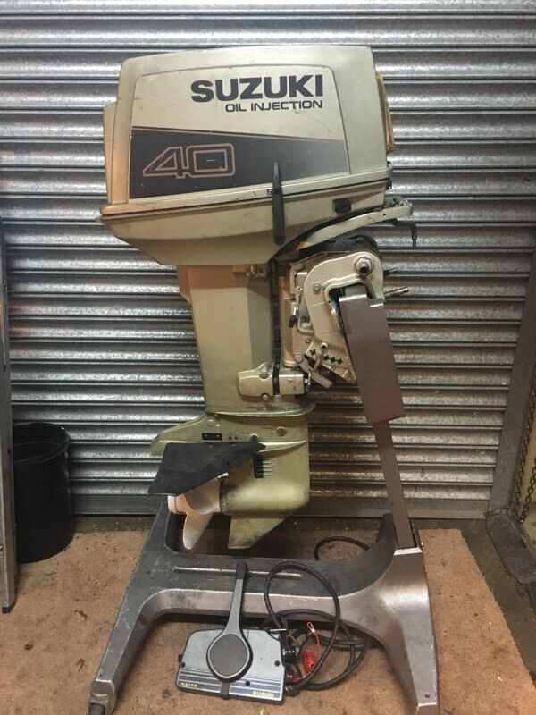 Suzuki 40hp Oil Injection Outboard Engine For Boat In