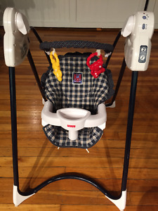 Fisher Price Peaceful Time Swing