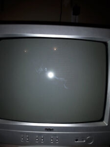 RCA color tv with remote