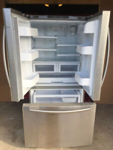 Samsung stainless steel w/h bottom freezer fridge for sale