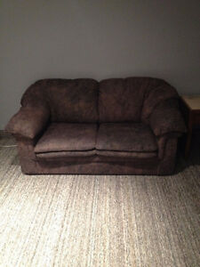 Couch and matching love seat