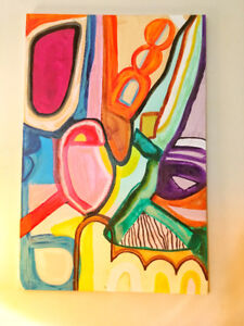 ART SALE! Original Abstract Art (all signed by artist)