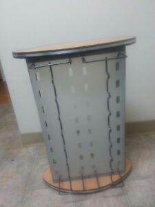 Sunglass Rack with Built in Mirror
