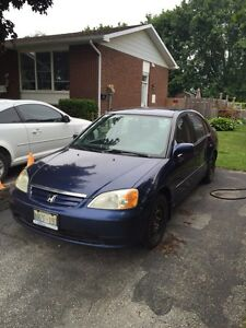 2001 Honda Civic - 5 speed
