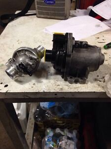 BMW water pump  and thermostat